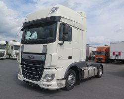 DAF XF 460 SSC  LD WHITE SPIDER