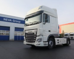 DAF XF 460 SSC WHITE SNOW+KLIM,TOP